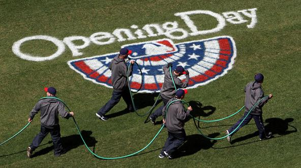 Opening Day - John Kuntz/Cleveland Plain Dealer