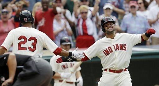 Brantley Smooth, Saves Tribe Bullpen and Win; Indians 9, Tigers 6
