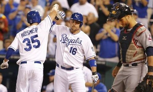 Hosmer Provides All the Power KC Needs; Royals 6, Indians 5