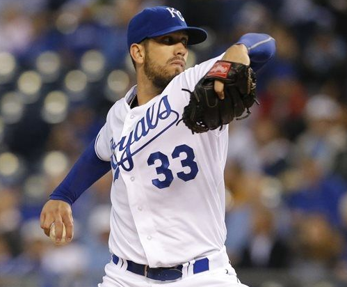 Season-High 17 Strikeouts Shields Tribe from a Win; Royals 7, Indians 1