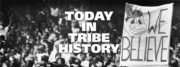 Today in Tribe History: April 10, 1977