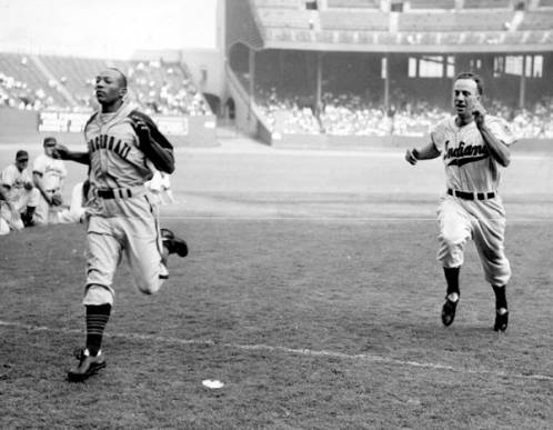 Veeck Promotions Included Case Race with Jesse Owens
