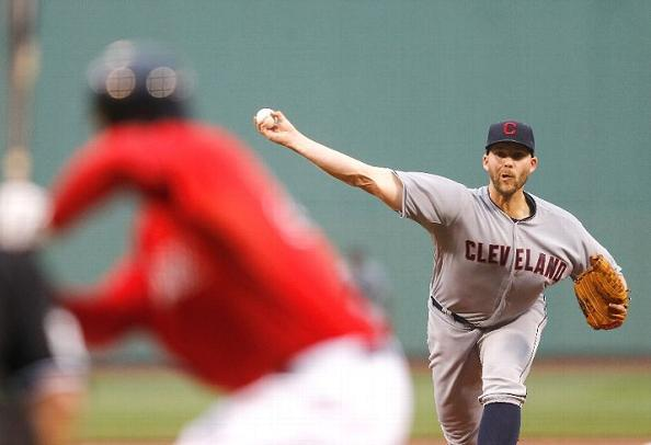 Masterson a Mess as Skid Hits Four Straight; Red Sox 10, Indians 3