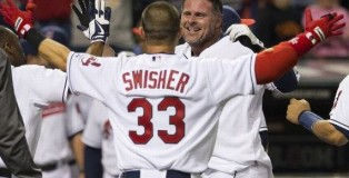 Swisher/Giambi Getty