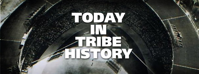 Today in Tribe History: April 12, 1960