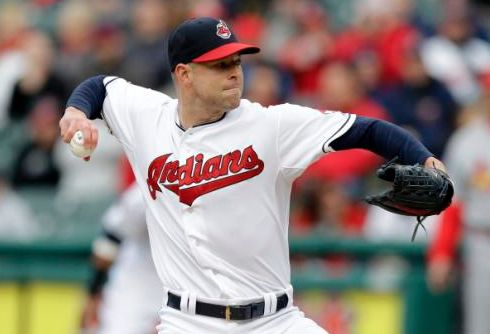 Kluber K's 18 Over Eight Innings for Win; Indians 2, Cardinals 0