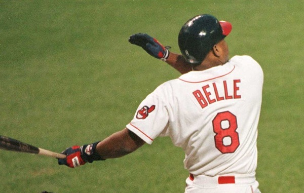 1995 Game Recap: Belle Slam Shows California Who's the AL's Boss—Indians 7, Angels 5