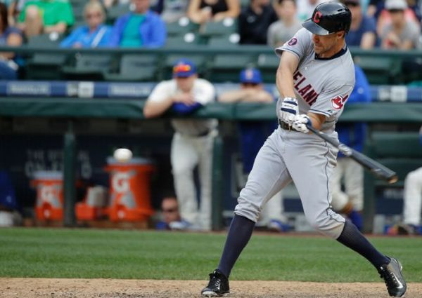 Tribe Wins in Seattle in 12 After Stranding 15; Indians 6, Mariners 3