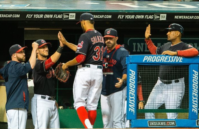 Salazar Leads Tribe to Fourth Straight Win; Indians 2, Yankees 1