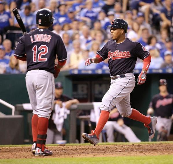 Offense Erupts as Indians Eclipse .500 Mark; Indians 9, Royals 5