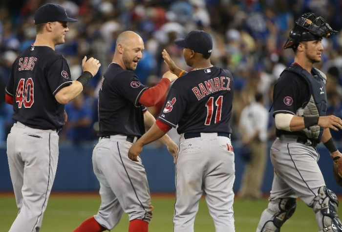 Salazar Sends Tribe to Sixth in a Row; Indians 4, Blue Jays 2