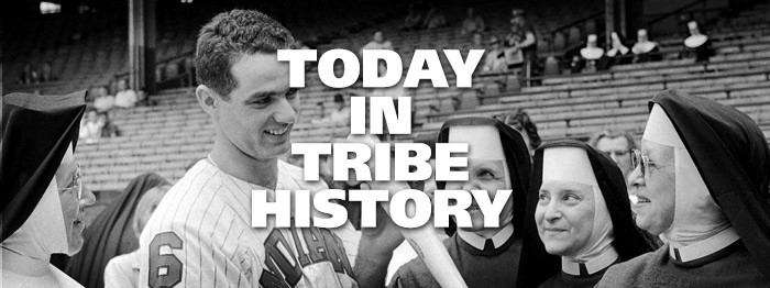 Today in Tribe History: June 21, 1956