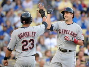 Brantley and Chisenhall - Harry How/Getty Images