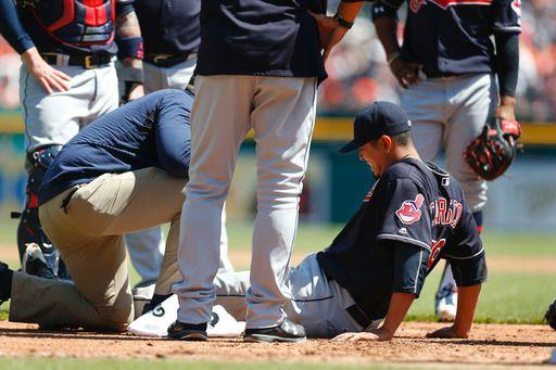 Carrasco Diagnosed with Moderate Left Hamstring Strain; Brantley Back