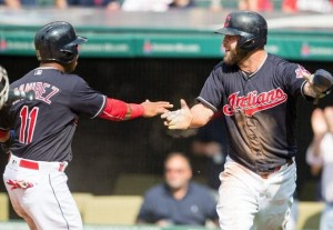 Tribe Jump on Jimenez Early, Take Over First Place; Indians 11, Orioles 4