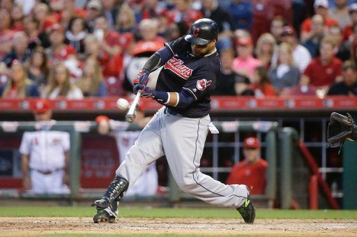 Terrific Tomlin, Two Santana Homers Send Tribe to Cincy Sweep; Indians 7, Reds 2