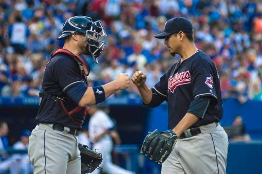 Carrasco's 14 K's Make 13 a Lucky Number for Tribe; Indians 4, Blue Jays 1