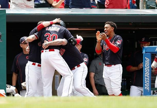 Indians Bring the Boom and the Brooms in Sweep of KC; Indians 7, Royals 0