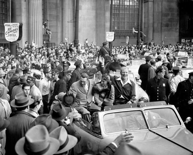 Veeck's Ownership Led to an Indians Championship Parade in '48