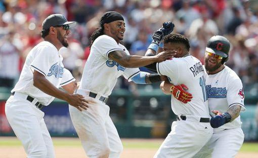 Cleveland Gets an Early Celebration Sunday with Ramirez Walk-off Single; Indians 3, White Sox 2