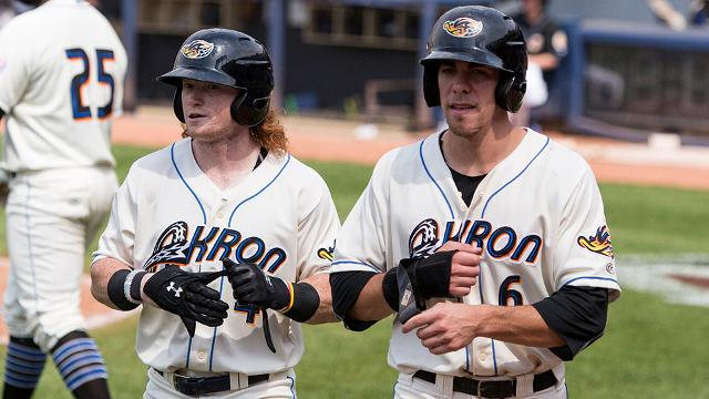 Cleveland's Frazier and Zimmer on the Move…to Triple-A