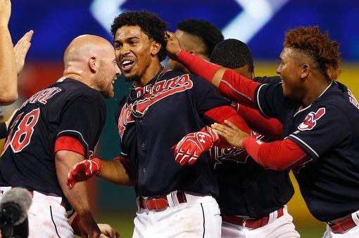 Lindor's Walk-Off Single Caps Three-Run Ninth Inning Comeback; Indians 7, Nationals 6