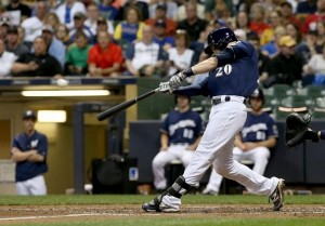 Lucroy - Dylan Buell/Getty Images
