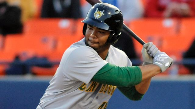 Hillcats' Bradley and Lugo Sweep Carolina League Weekly Awards