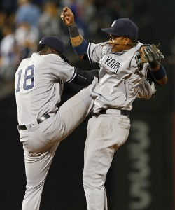 Gregorius and Castro - Rich Schultz/Getty Images