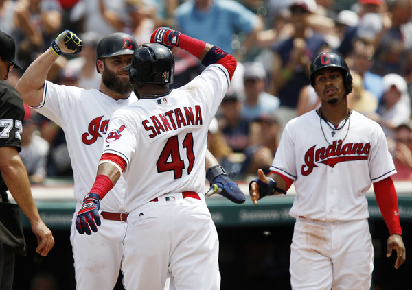 Skid Stopped at Three as Tribe Trounces Twins; Indians 9, Twins 2