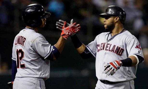 Tribe Blanks Oakland Behind Stellar Pitching and Santana's Blast; Indians 1, A's 0
