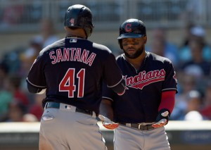 Almonte and Santana - Hannah Foslien/Getty Images