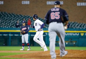 Kinsler and Cabrera Make it Rain; Tigers 6, Indians 3