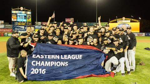 RubberDucks Win Eastern League Championship; 'Ducks 2, Thunder 1