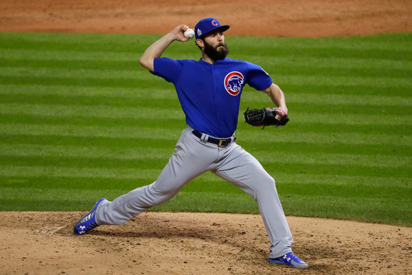 Cleveland Bats Go Ice Cold Against Arrieta on Cool Game 2 Night; Cubs 5, Indians 1
