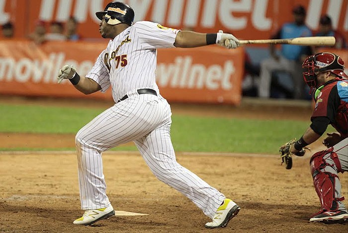 Aguilar Named LVBP Player of the Week