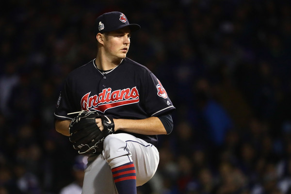 Bauer Brought Stability to Indians' Starting Staff in 2016