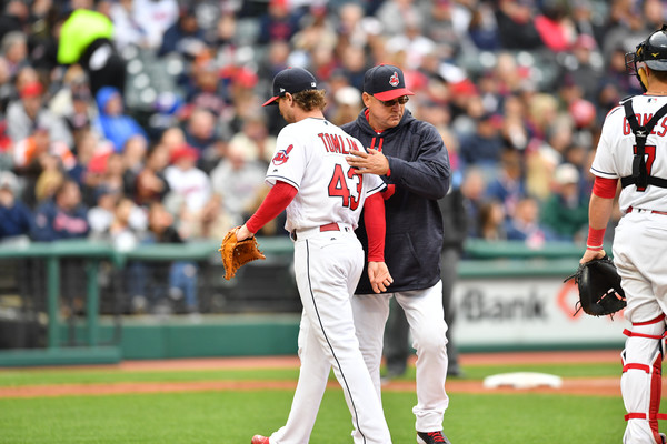 Tomlin Tagged Early and Often as Tribe Drops Series to Sox; White Sox 10, Indians 4