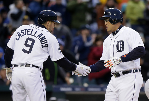 Tigers Get to Tribe Early Again to Take First Two of Series; Tigers 5, Indians 2