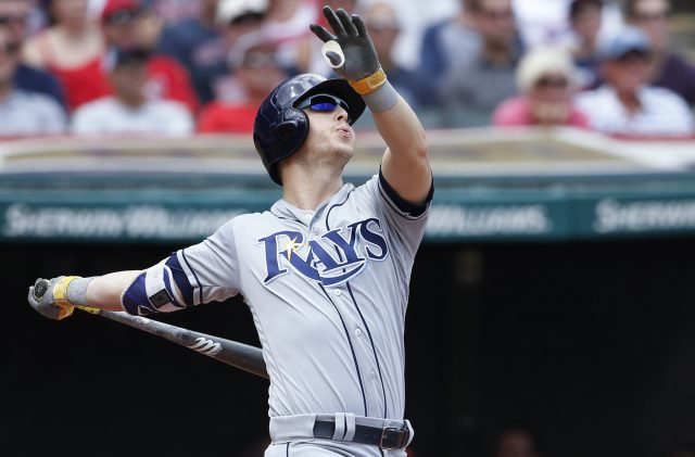 Early Runs Off of Tomlin Send Rays to Rout of Tribe; Rays 7, Indians 4