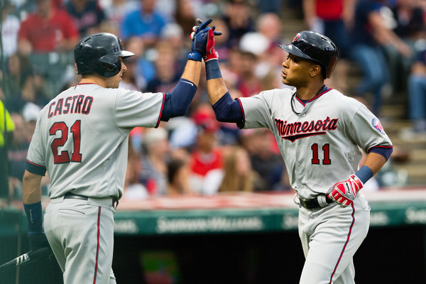 Big Second Inning Gives Twins a Win Over Bauer and Tribe; Twins 5, Indians 0