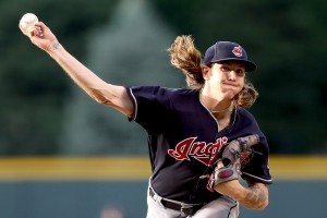 Clevinger - Matthew Stockman/Getty Images