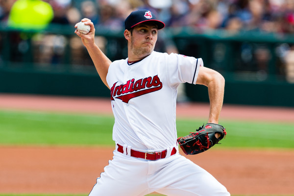 Bauer Brings the Broom as Tribe Wins Seventh Straight; Indians 2, Angels 1