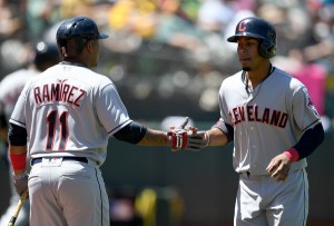 Lindor & Ramirez -Thearon W. Henderson/Getty Images