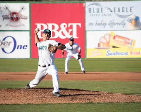 Chiang's No-Hitter Nets Him Carolina League's Pitcher of the Week Nod