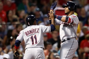 Encarnacion Powers Tribe Past Sox with a Pair of Blasts; Indians 7, Red Sox 3
