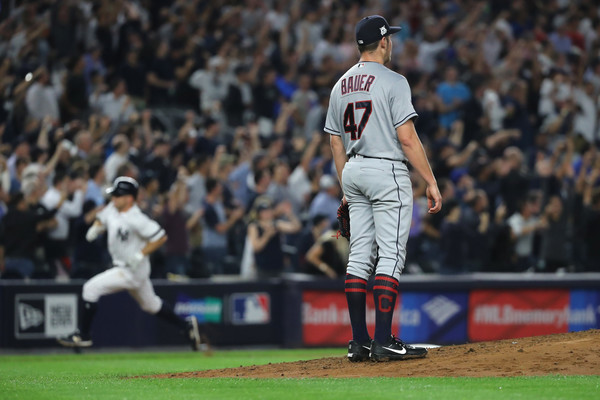 Yankees Even Series in Rout of Tribe; Yankees 7, Indians 3