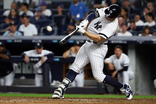 Bird's Blast Off Miller Helps Yankees Avoid ALDS Sweep; Yankees 1, Indians 0