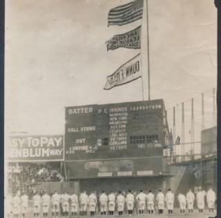 New Name and Offensive Fireworks as Indians Hoisted Pennant in 1921