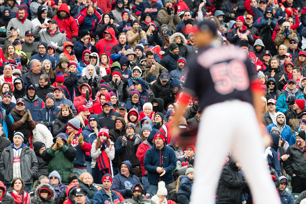 Tribe Holds on for Home Opener Victory; Indians 3, Royals 2